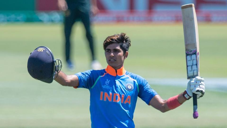 inkl - Shubman Gill continues red-hot streak in ICC Under-19 Cricket World Cup - Hindustan Times