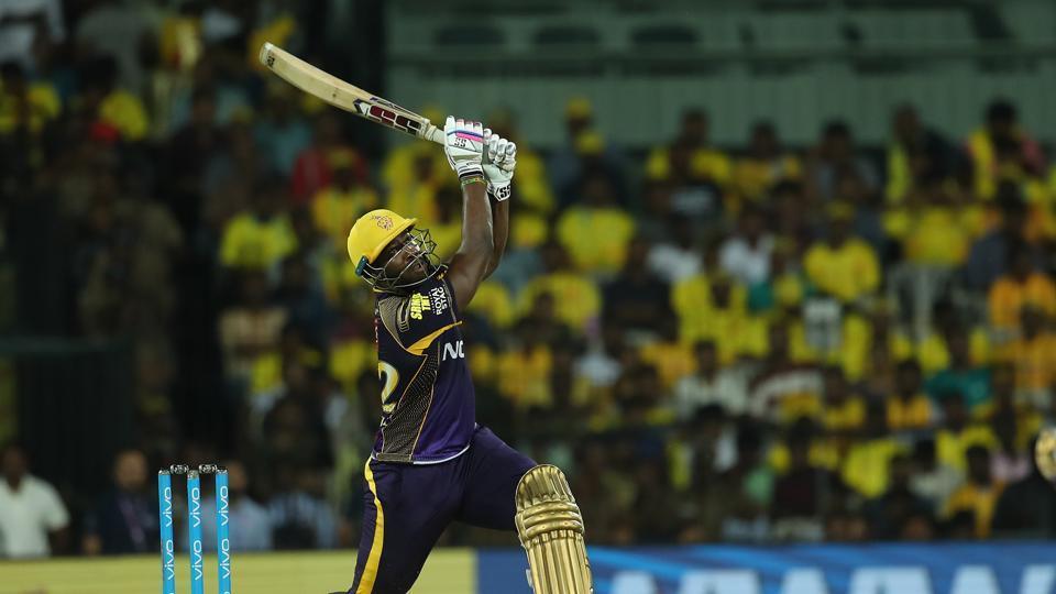 inkl - Hindustan Times - IPL 2018 Chennai Super Kings vs Kolkata Knight  Riders, live cricket score: KKR 202/6, Russell 88*