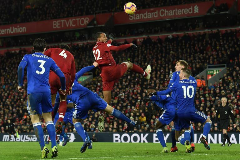 inkl evening standard liverpool vs leicester city live premier league football as it happened inkl