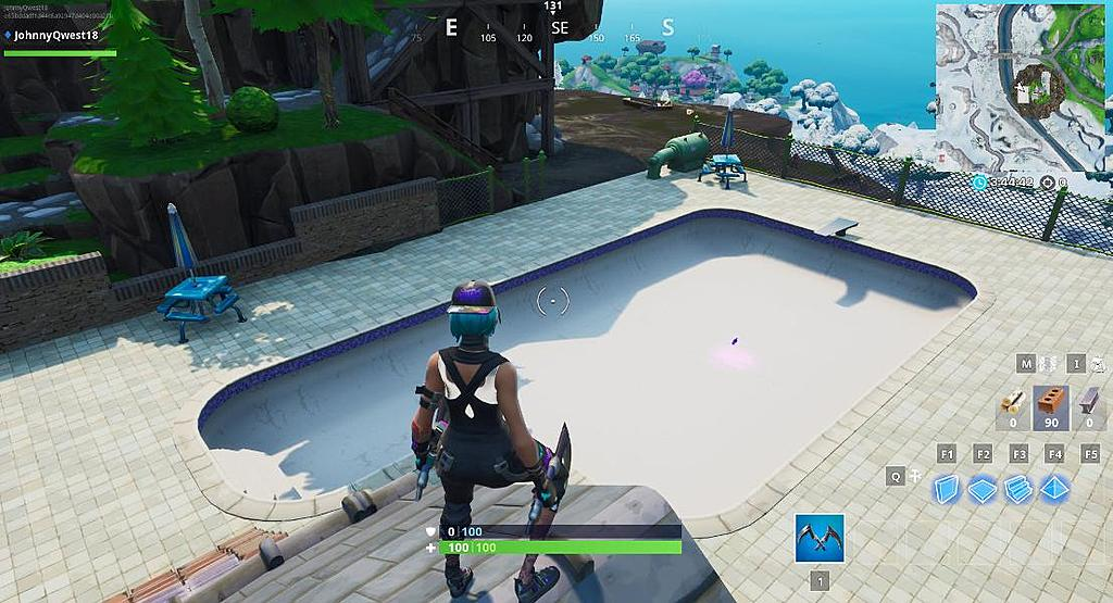 Inkl Fortnite Above Ground Pool Location Where To Dance In A Way Above Ground Pool Forbes