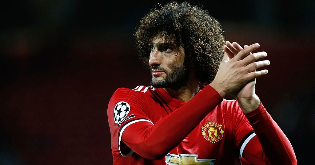 inkl marouane fellaini takes dig at select group of manchester united players manchester evening news inkl