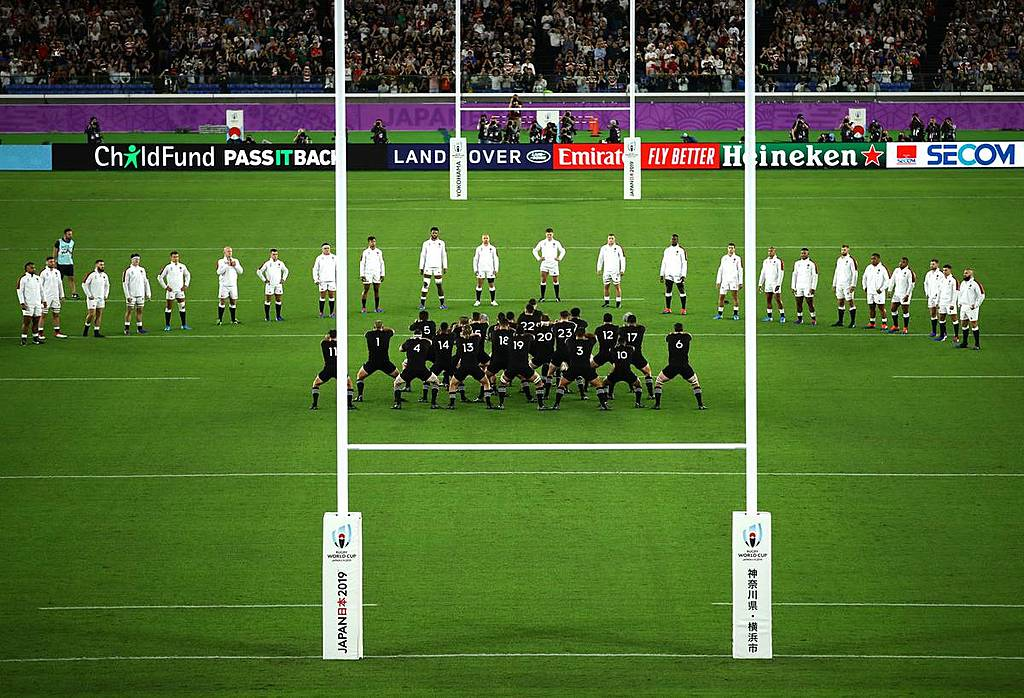 Inkl Great Way To Accept The Challenge Maori Researcher Backs English Response To All Blacks Haka The New Zealand Herald