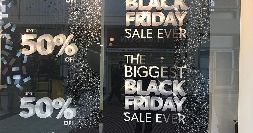 Inkl These Are The Black Friday 2019 Deals At Asda Tesco Sainsbury S Aldi And More Bristol Post