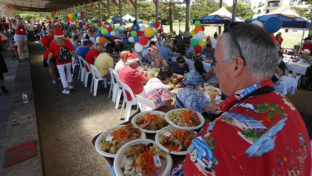 Inkl Newcastle Herald All Welcome At This Christmas Lunch