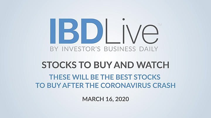 Inkl Ibd Live Zoom Video Could Be The Best Stock To Buy When Coronavirus Crash Ends Investors Business Daily